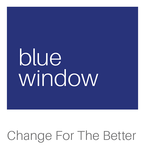 Blue Window Logo